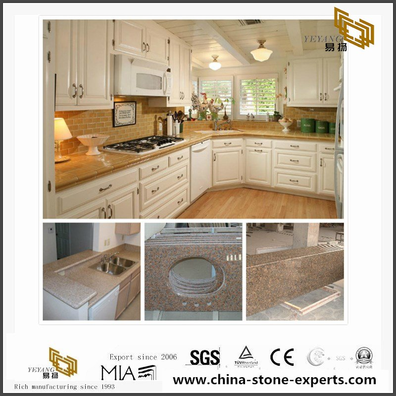 Delicieux Cheap China G682 Yellow Granite Kitchen Countertop, Vanity Tops