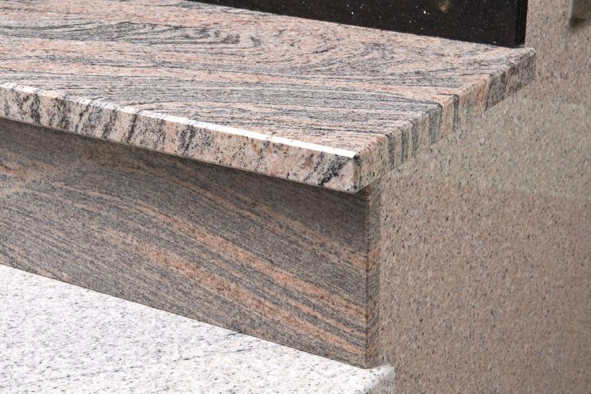 Colombo juparana pink granite countertop yqz gc buy for Arbeitsplatte granitoptik