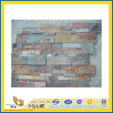 Rusty Slate Veneer Tiles for Wall Cladding (YQA-S1062)