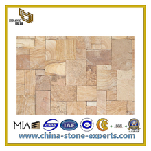 Natural Black/Green/Red/Yellow/Grey Sandstone Tiles for Flooring and Wall(YQC)