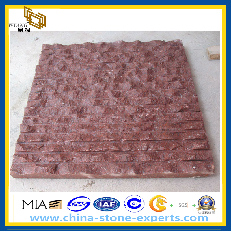 Red Granite Wall Cladding Wall Tile Yqz Gt Buy Wall Tile Wall