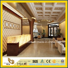 Backlit Honey Onyx Glass Work Top/Bar Top for Luxury Hotel
