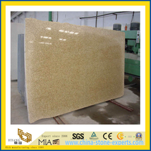 Polished Natural Stone Gold Sunset Granite Slab for Wall/Floor (YQC)
