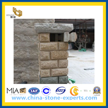 Natural Split Exterior Wall Stone Tile for Landscaping(YQG-PV1066)