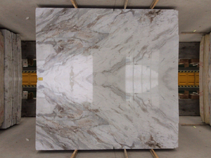 Top New arrival 3040*1450*8mm Arabescato Venato White marble