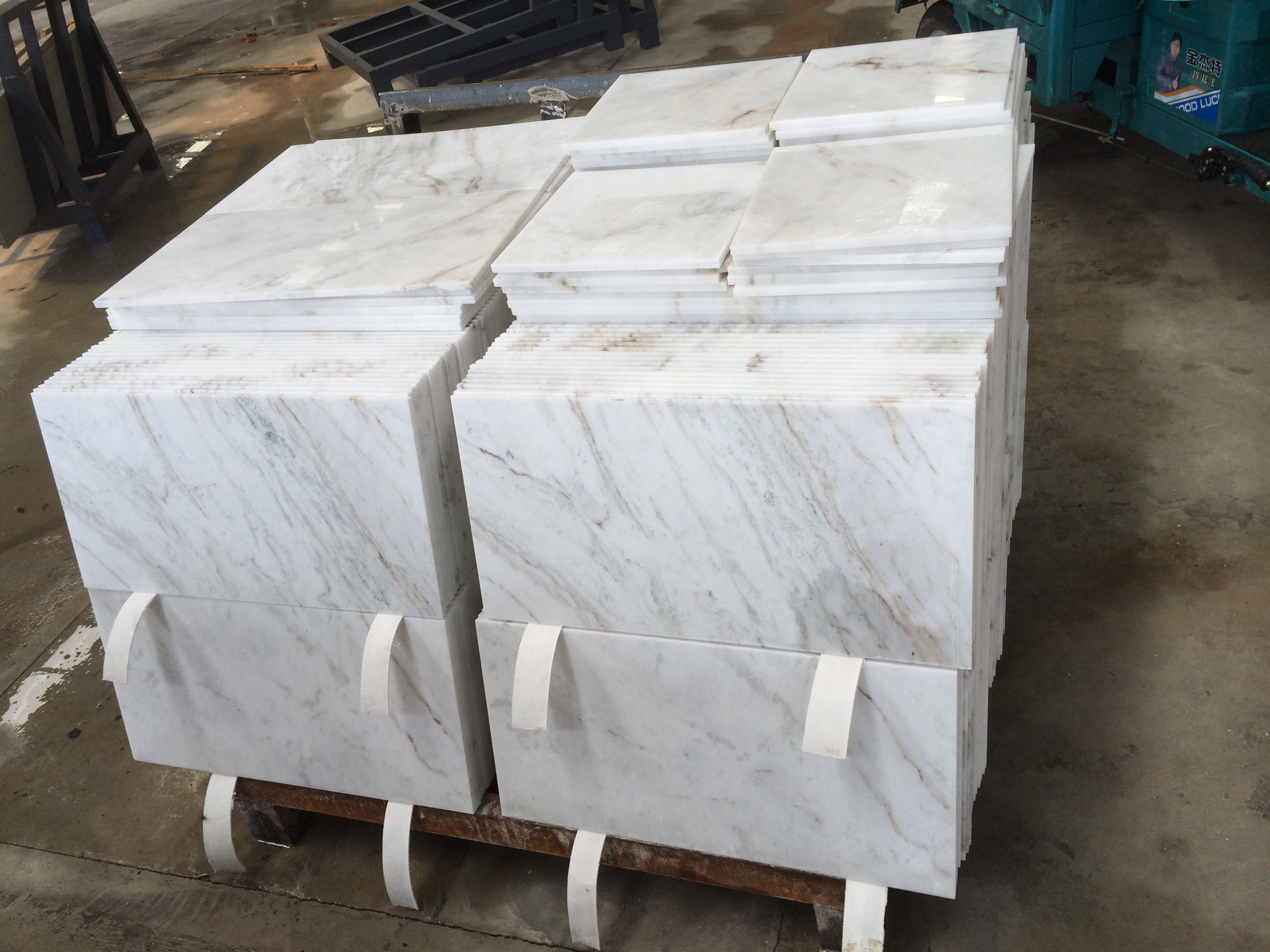 Arabescato Venato New White Marble Tiles From Yeyang