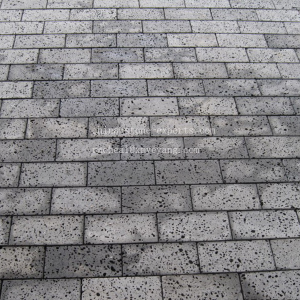Honed Gray Basalt Outdoor Paving Stone Pavers Yqz