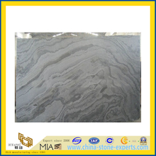 Natural Polished Galaxy Slate Slab for Decoration Wall (YQA-S1036)