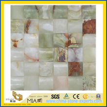 Jade Onyx Marble Mosaic with Polished Surface for Floor/Wall/Countertops