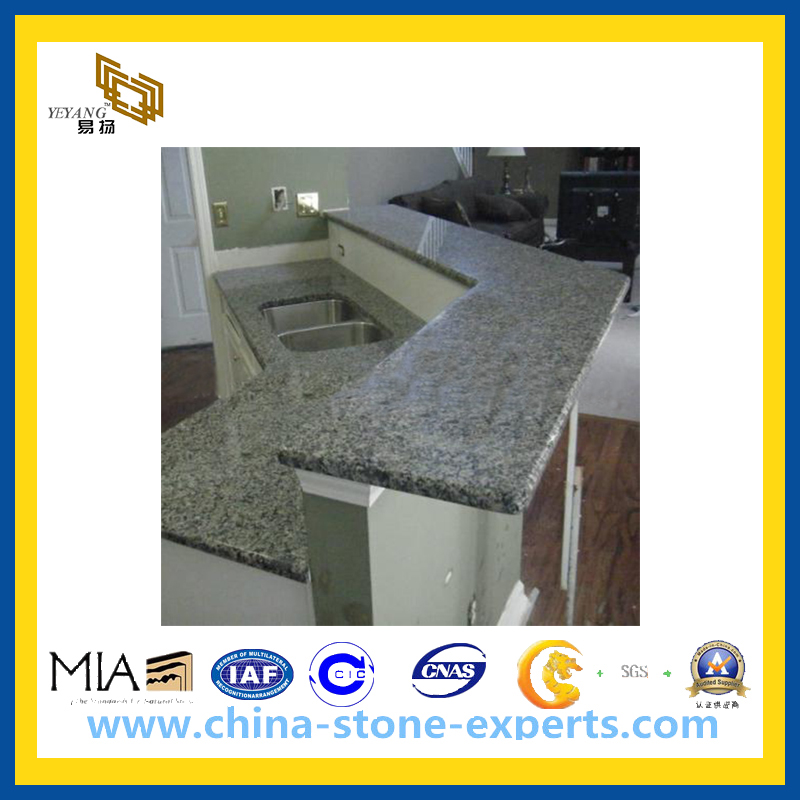 Polished Surface Cinderella Grey Marble Countertop YQG MC1006. Polished Surface Cinderella Grey Marble from China manufacturer