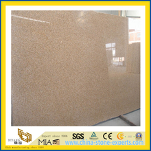 Polished Natural Stone Yellow G682 Granite Slab for Wallfloor (YQC)