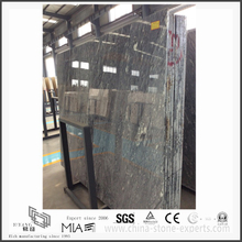 Diy New Roman Ice Dark Grey Marble Slab for Kitchen/Bathroom Countertops & Floor Tiles(YQW-MS31014)