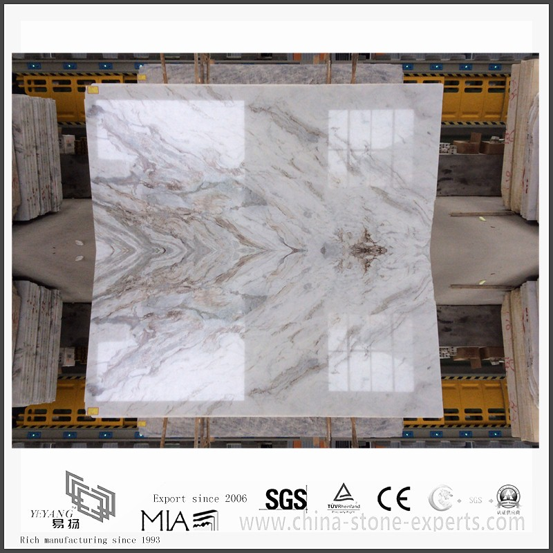 charming new arabescato venato white marble slab for bathroom countertop  yqwmsa21013  Marble Bathroom Countertops Image. Marble Bathroom Countertops Manufacturers   SNSM155 com