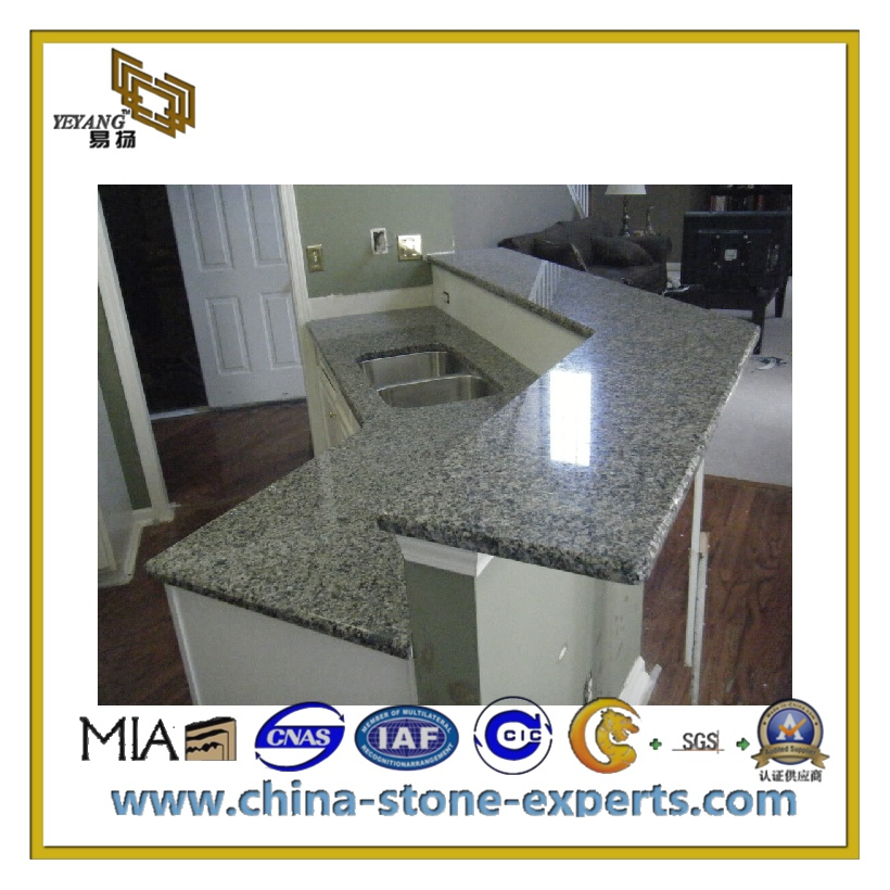 Top Sell Polished Cinderella Grey Marble Countertop For Kitchen Or Bathroom  (YQC MC1008)