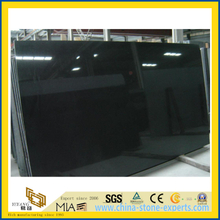 Polished Shanxi Absolutely Black Granite Slab for Countertop Tombstone