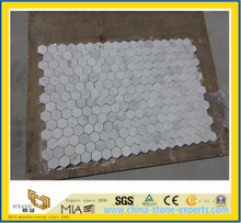 White Marble Stone Mosaic for Building Project-Yya