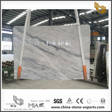 Fashion White Vemont Grey Stone Marble for Wall Backgrounds & Floor Tiles (YQW-MS090705)