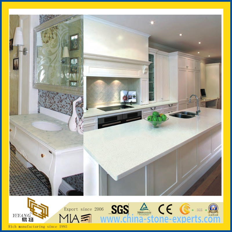 manufacturers product kitchen for sparkle quartz white countertop quality excellent countertops detail manufacture