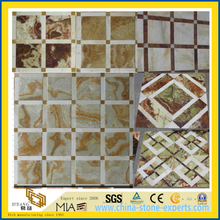 Mixed Color Onxy Marble Mosaic for Background Wall Tile