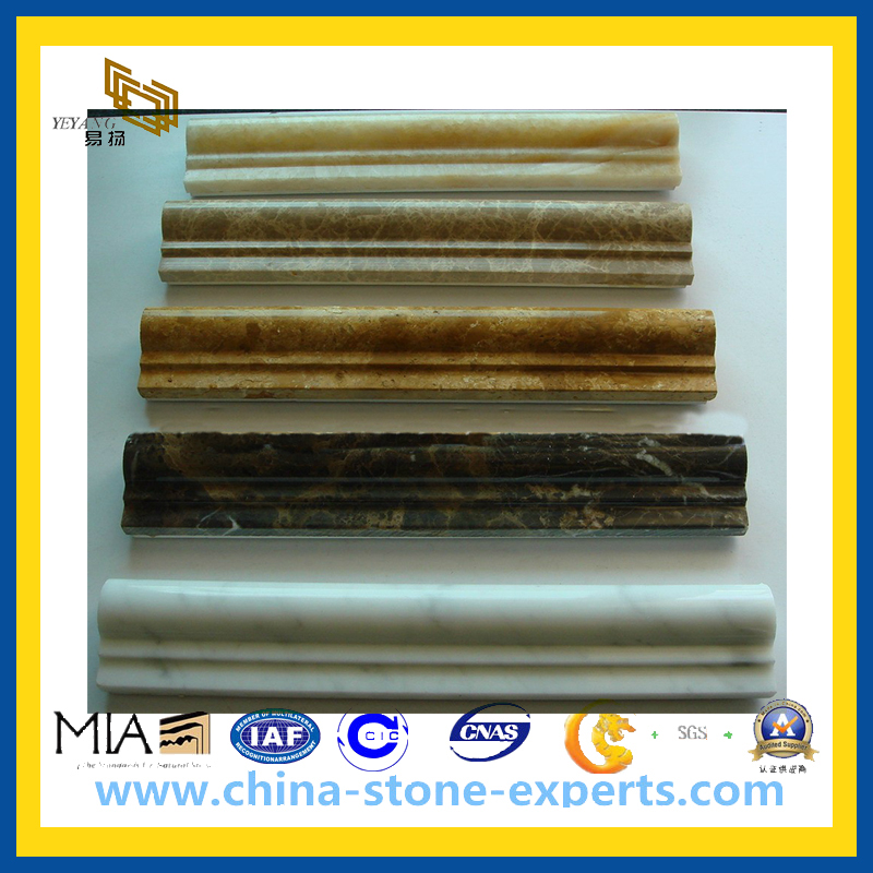 Stone Marble Limestone Granite Liner Linears Chair Rail