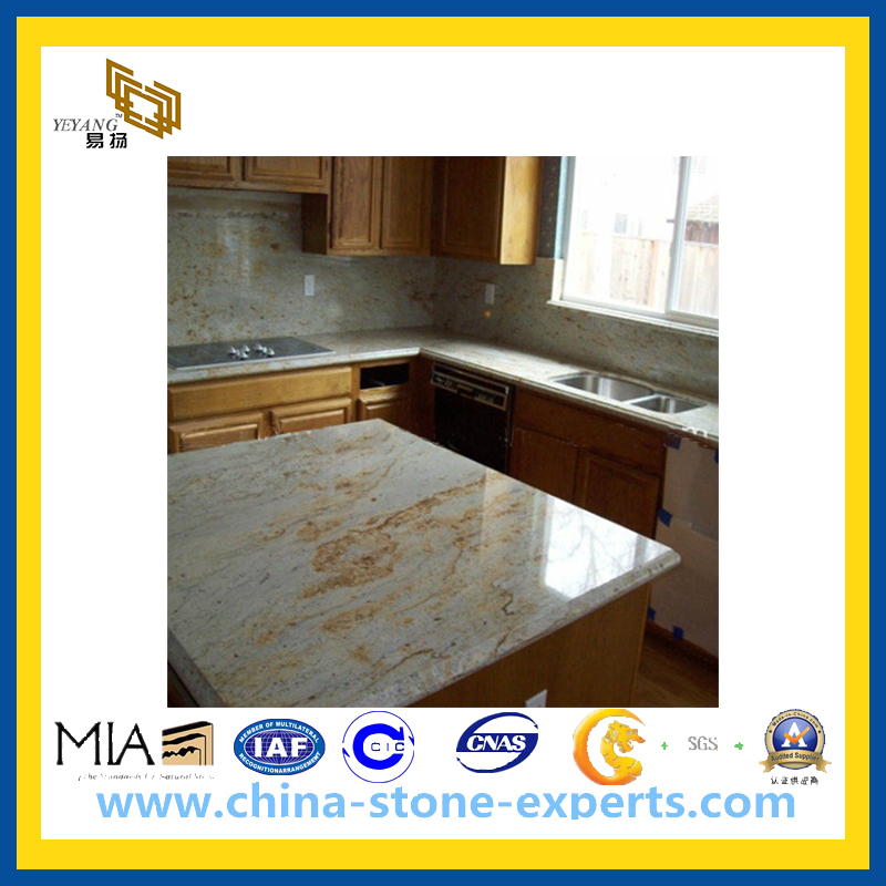 Imperial Gold Granite Countertop For Kitchen Bathroom (YQG GC1097)