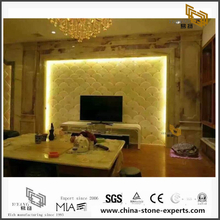 Luxury Onyx Wall Marble Backgrounds for Hall Design (YQW-MB0726024)