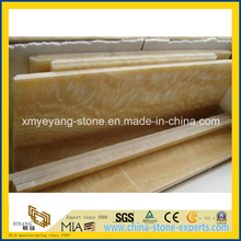 Yellow Honey Onyx Window Sill Board for Decorative Materials