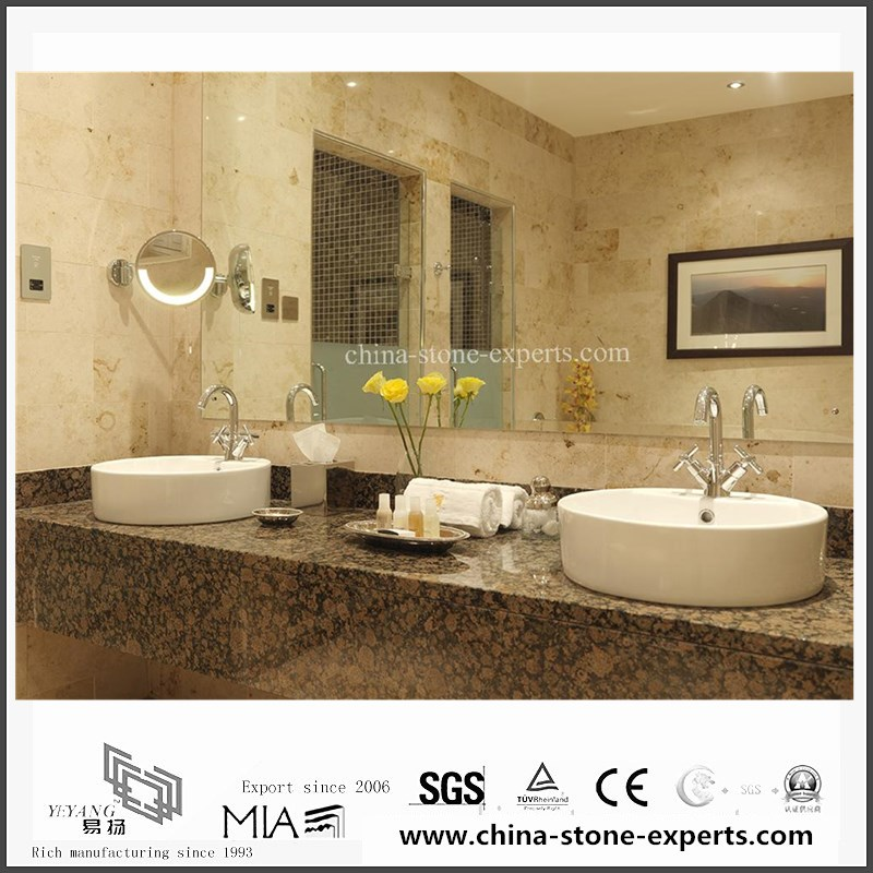 Quality Natural Baltic Brown Granite Vanity tops for Bathroom,Hotel ...