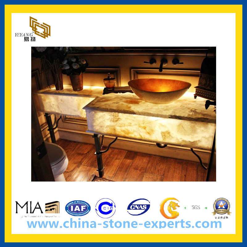 cheap yellow wood grain marble countertop