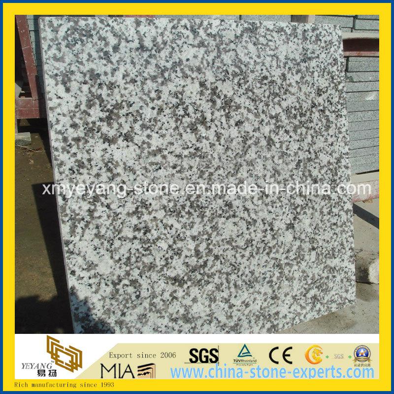 G439 Big White Flower Granite Polished Floor Tile Paving Tile