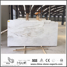Wolesale New Polished Arabescato Venato White Marble Slabs for Bathroom Wall Tiles (YQW-MSA06051903)
