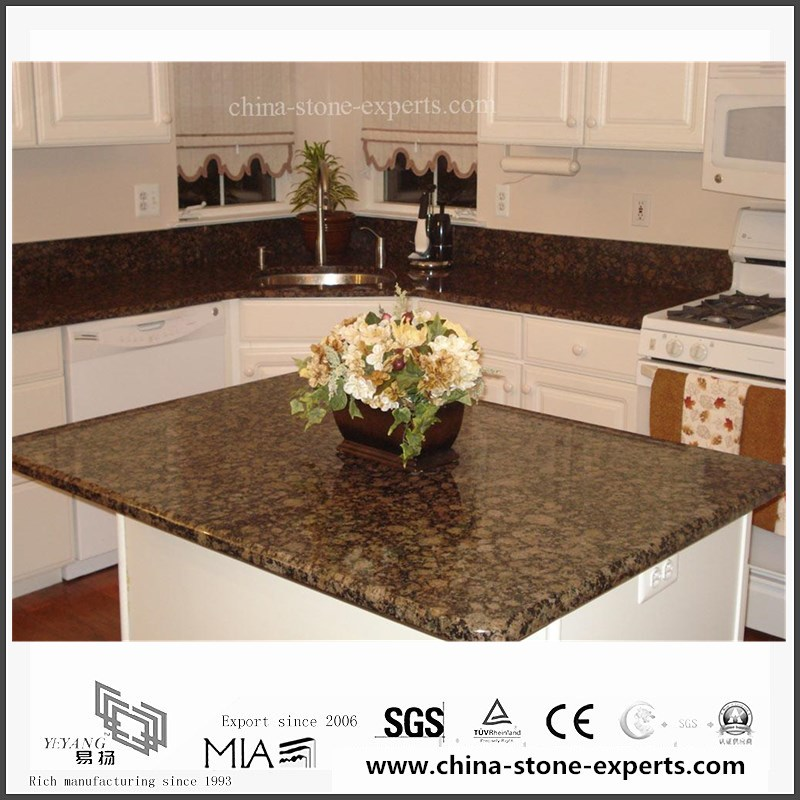 Merveilleux Natural Baltic Brown Granite Countertop For Kitchen,Hotel (YQW GC06051911)