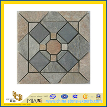 Rusty Flooring Slate, Black Slate Tile, Green Slate, Yellow Slate (YQA-S1059)