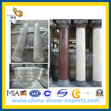 Marble Stone Column and Pillar (cream, black, green, yellow, beige etc)(YQG-CS1031)